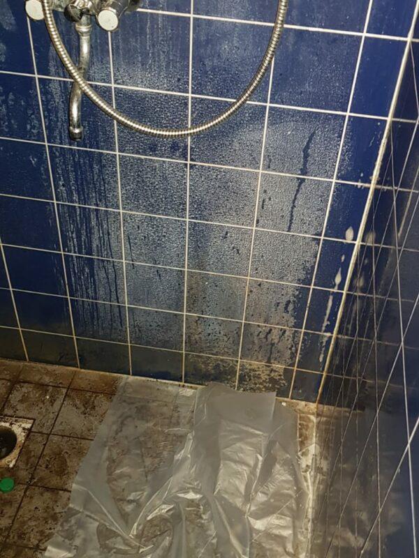 Badkamer schoonmaak - voor
