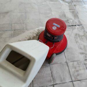 Schoonmaak vloer